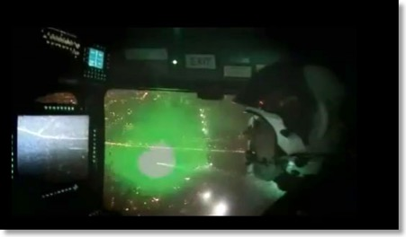 UK: Video of helicopter incident | Laser Pointer Safety