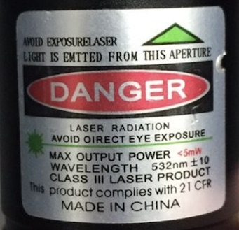 Airplane   Laser Pointer Safety - News of aviation-related incidents