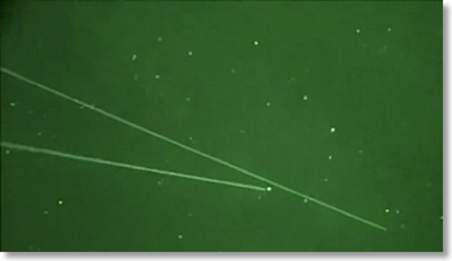 Lasers aimed at UFOs