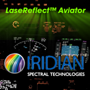 Iridian LaseReflect Armor laser eye protection